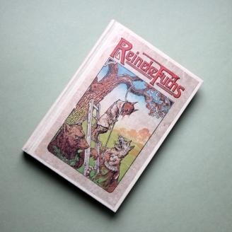 """Vignetten aus """"Reineke Fuchs"""", erzählt für die Jugend von Fritz Werdermann, Verlag Jugendhort, um 1910"""